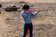 Pink-rifle